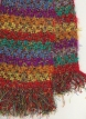 Teddy bear's scarf detail