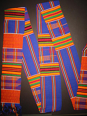 Kente cloth strip