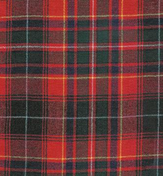 Macinnes Red tartan
