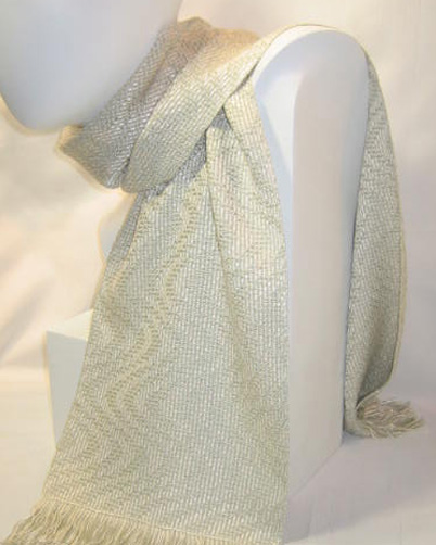 Celadon silk wave