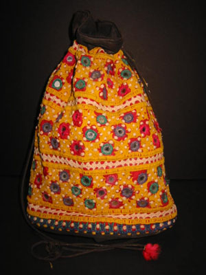 Mirror cloth bag