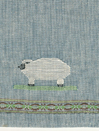 Woven sheep detail