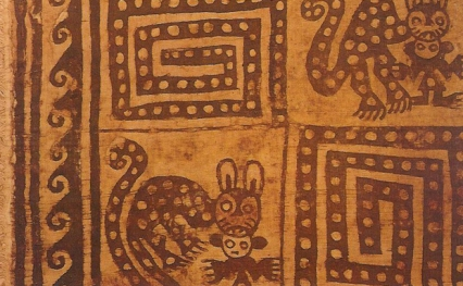 Peruvian cat 1100-1400 A.D.