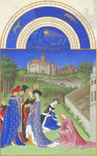 """""""April"""" from """"Les Tres Riches Heures"""""""