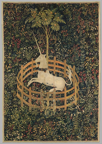 """The Unicorn in Captivity"""