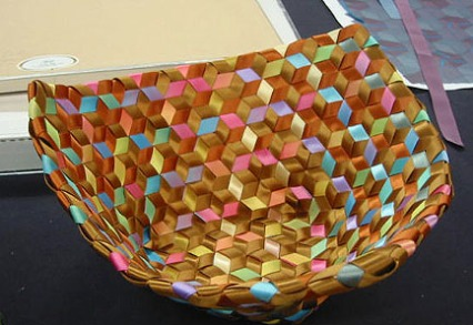 Soft basket by Sally Shore